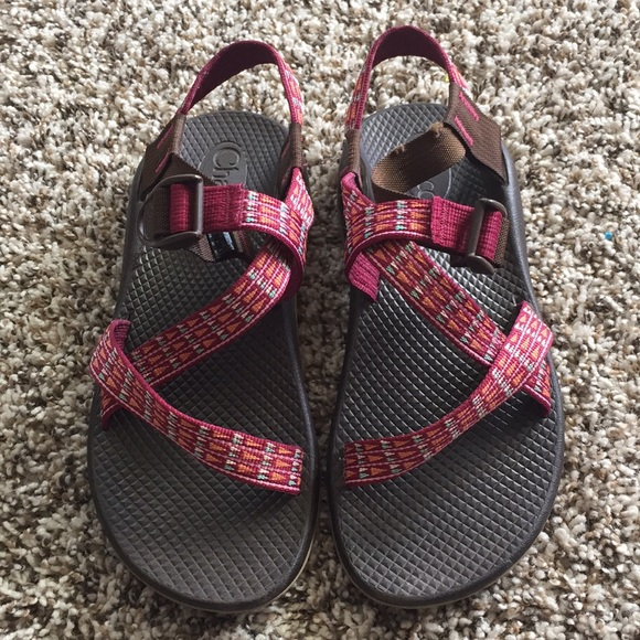 ab86a24a42f0 Chaco Shoes - Chaco ZX1 sandals size children s 5 women s 7 pink